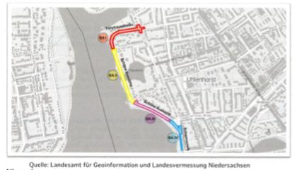 Ausbau der Alster Fahrradachse