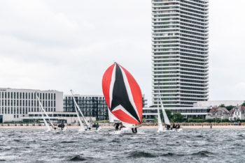 25 Knoten Wind und Ostseewasser
