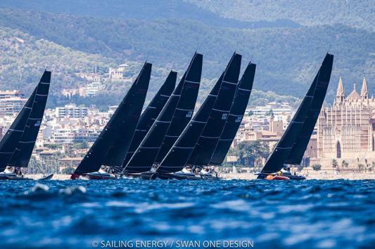 Marcus Brennecke gewinnt  die Swan Tuscany Challange  auf seiner Club Swan 50 'Hatari'