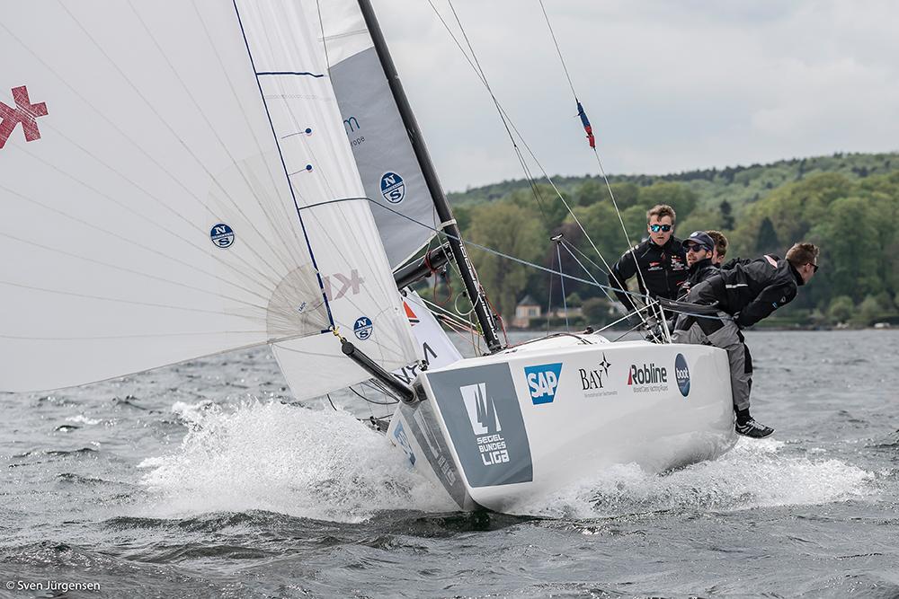 Segelbundesliga startet am 17. Juli  in Kiel