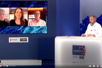 Sanny Beucke und Harm Müller-Spreer in der Boris Herrmann Edition der Vendée Globe live