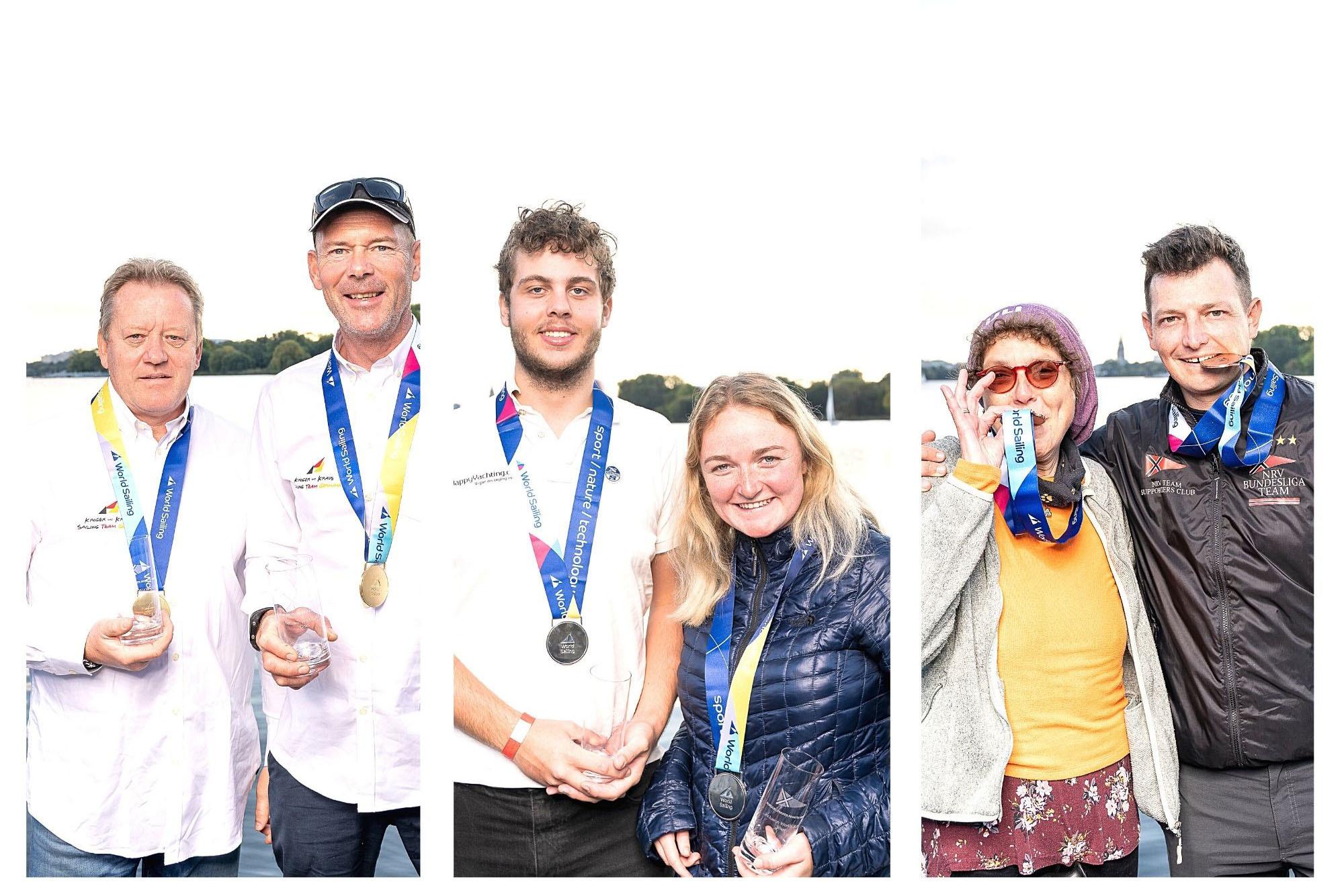 Heiko Kröger und Clemens Kraus werden die ersten Weltmeister im inklusiven Segelsport