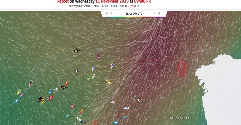 Tracker Vendée Globe 11-11-20