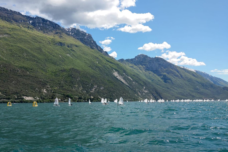 Leif und Lysander segeln auf und davon