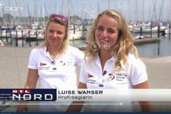 Luise Wanser und Anatsasiya Winkel in RTL Nord