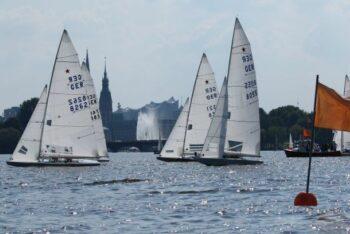 Regattabeginn für Kielboote im NRV
