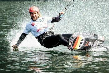 Hochs und Tiefs bei der Kitefoil World Series am Traunsee