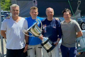 And he did it again: Michael Grau gewinnt die GO der J70