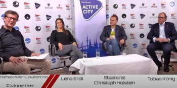 Treffpunkt NRV online mit Sportstaatsrat Christoph Holstein zum Nachschauen