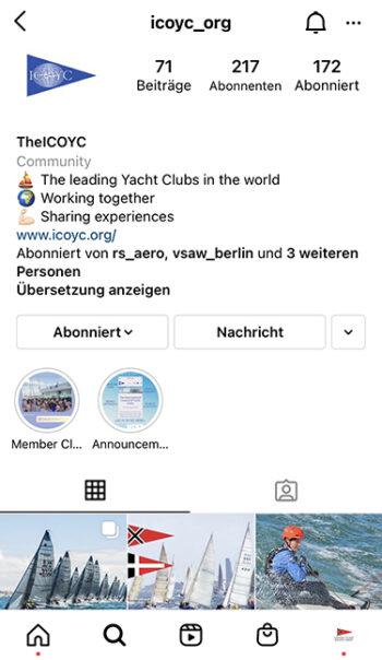 Instagram Account IOCOYC