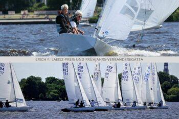 Champagner Segeln beim Erich F. Laeisz-Preis und Frühjahrs-Verbandsregatta