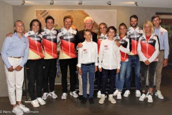 Sanny Beucke erhält goldene NRV Ehrennadel