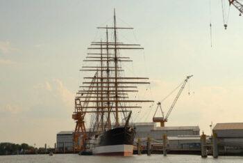 Die PEKING kehrt nach Hamburg zurück