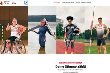 Leonie Meyer ist  nominiert für die Wahl des Sportstipendiaten 2021!